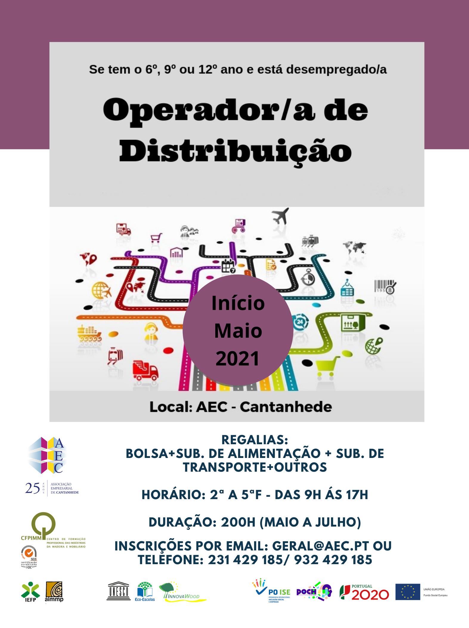 Operador/a de Distribuição